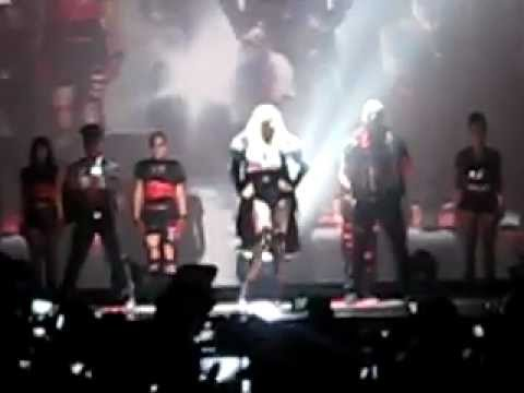 Madonna Opening act for Smirnoff/Madonna nightlife exchange event, New York , Roseland Ballroom