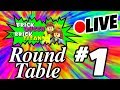 ???? LEGO Round Table LIVE #1 ????