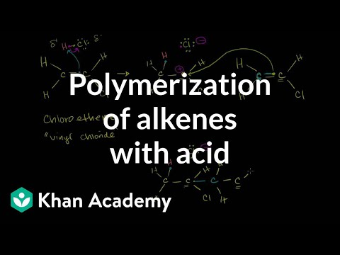 Polymerization of Alkenes with Acid