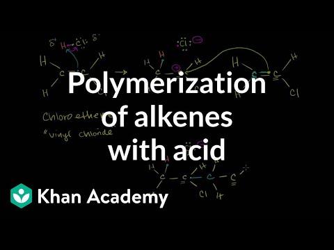 Polymerization of Alkenes with Acid