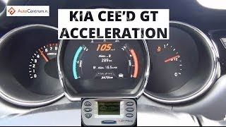 Kia cee'd GT 5d 1.6 T-GDI 204 KM - acceleration 0-100 km/h