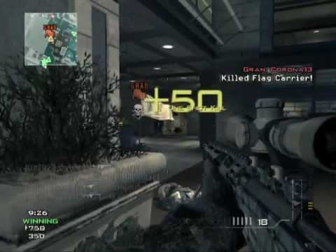 MW3 - Awesome way to start the game with an MSR.