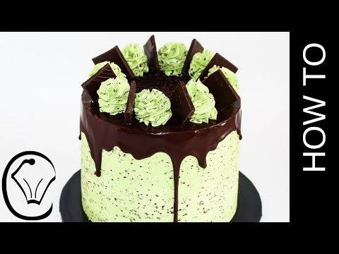 Scratch Chocolate Layer Cake Chocolate Cheesecake  Mint Chocolate Chip Condensed Milk Buttercream