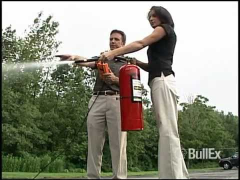 BullEx Live-Fire Extinguisher Training System
