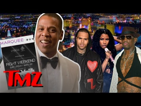 Jay Z is having a Mayweather/Pacquiao post-fight party …