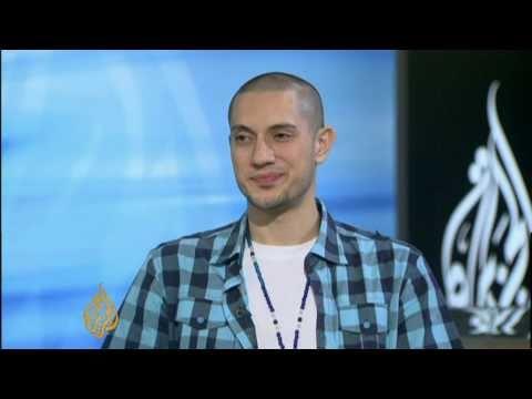 Omar Offendum on Al Jazeera - #Jan25 Egypt