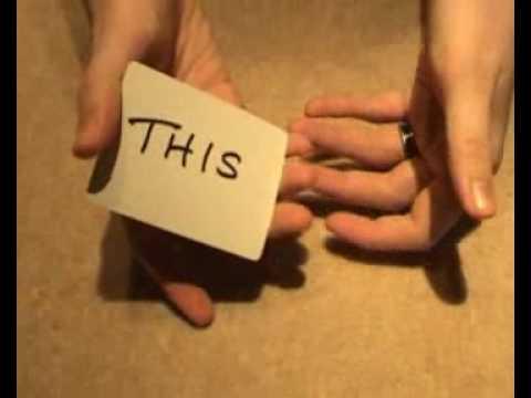WTF Magic trick - This-n-That card trick