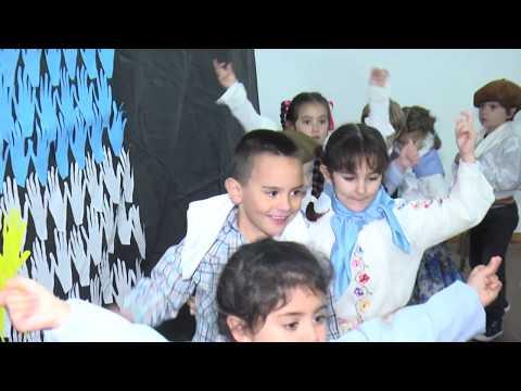 La escuela Santa Teresita y el festejo por el Día de la Bandera