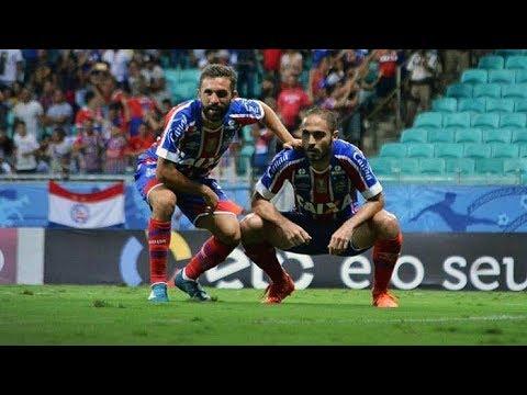 Veja os gols de Bahia 2 x 0 Corinthians