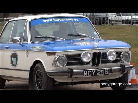 BMW 1602 Rally Test Drive