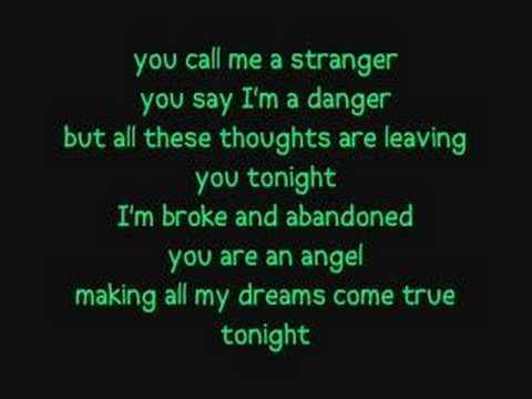 Secondhand Serenade : Stranger ( lyrics )