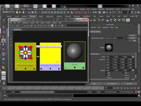mib texture polkadot Mental Ray Maya Tutorial
