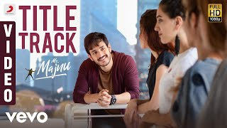 Mr. Majnu - Title Track Telugu Video