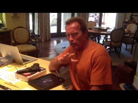 Arnold Schwarzenegger Records Voicemail Message