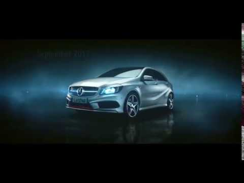 Mercedes-Benz EM-Werbung 2012 DFB-Team (A-Klasse) / new Mercedes tv-commercial-german team