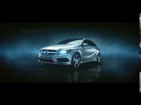 Mercedes-Benz EM-Werbung 2012 DFB-Team (A-Klasse) / new Mercedes tv-commercial-german team