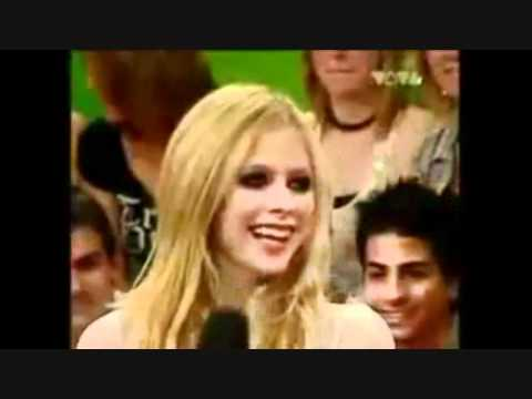 Avril Lavigne best funny moments laughing