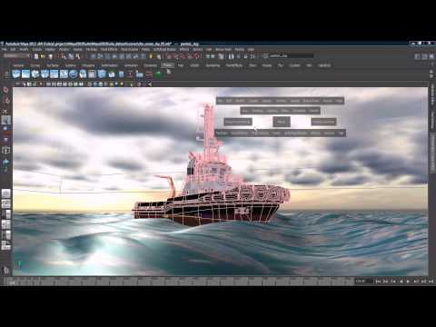 Maya Tutorial: Dynamics & Effects Overview