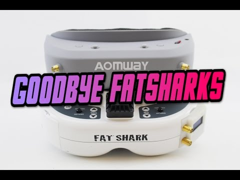 Aomway VS Fatshark | OMG NEW BEST FPV GOGGLE? Aomway commander goggle fpv review - UC3ioIOr3tH6Yz8qzr418R-g