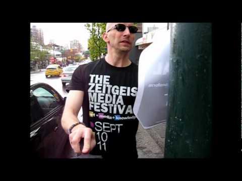 Zeitgeist Media Festival Street Promotion