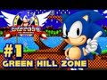 Sonic The Hedgehog Sega Genesis - (1080p) Part 1 - Green Hill Zone