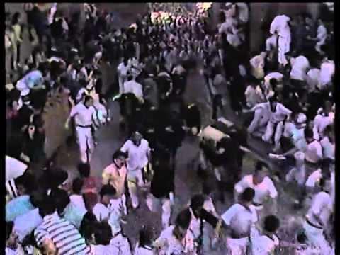Encierro de San Fermín   11 de julio de 1987