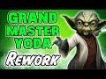 Grand Master Yoda Rework Gameplay! Super Fast and High Damage! | Star Wars: Galaxy of Heroes