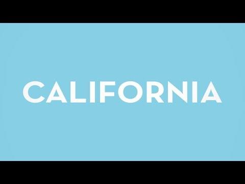 California (Lyric Video)