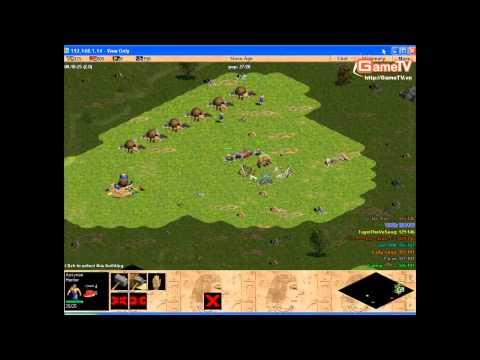 AOE  | GameTV vs Thái Bình 6-6 (HD)
