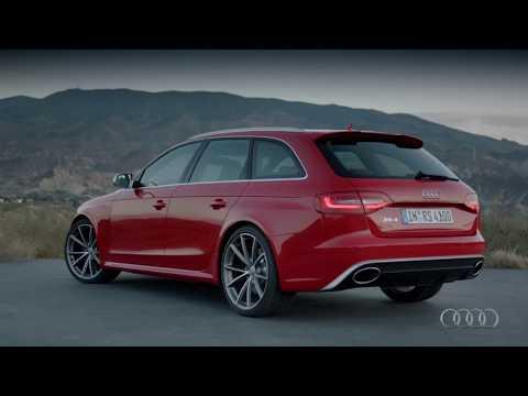 offizielles Video zum neuen Audi RS4 B8 2012
