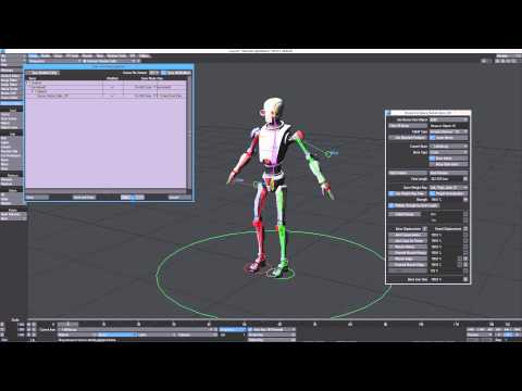 LightWave 2015: How to Use the Genoma 2 to Unity Preset - Part 3