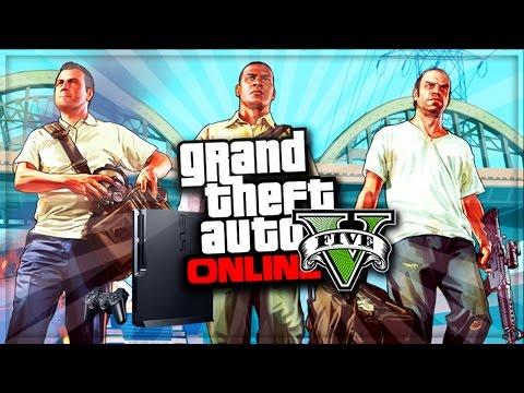 GTA 5 Online - Update 1.17 DLC & Heist Too Much For PS3 ! (GTA V Online Gameplay)