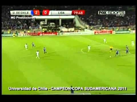 Final Copa Sudamericana 2011 - U de Chile 3 Liga de Quito 0  Universidad de Chile Campeon