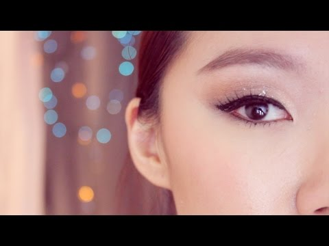 Easy Holiday Makeup Tutorial Great for monolids and asian eyes 홀리데이 메이크업 Suzy Kpop makeup Inspired