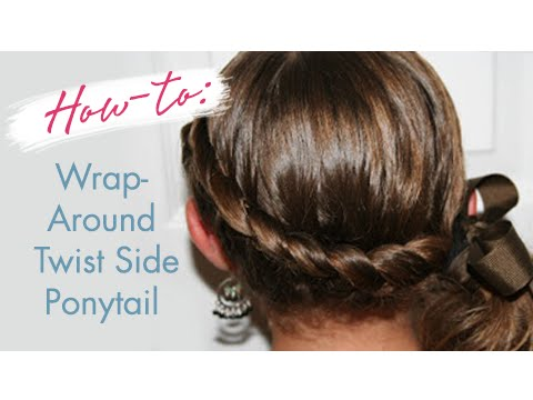 Wrap-Around French Side Ponytail | Cute Girls Hairstyles