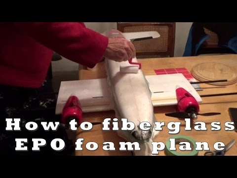 "How to fiberglass an RC Plane belly ""My Twin Dream"" - UCArUHW6JejplPvXW39ua-hQ"