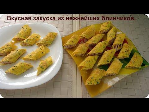 Блины из рецепты быстро и вкусно
