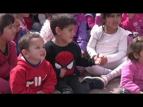 Festejos por el Día del Niño en la Escuela Hogar Eva Perón
