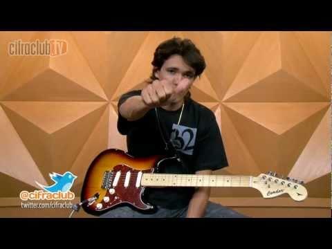 Vinheta Cifra Club TV - Ozielzinho (aula de guitarra)