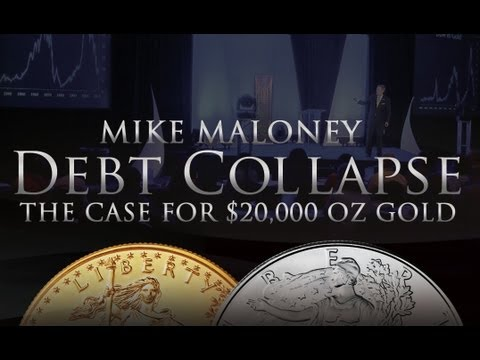 Debt Collapse - The Case For $20,000 Gold - Mike Maloney (FULL PRESENTATION)