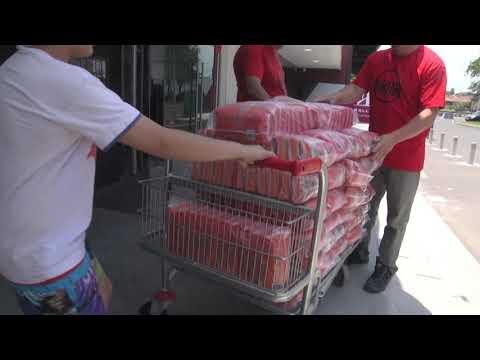Ayudar hace bien: FEDECO donó gran cantidad de kilos de arroz a Once por Todos