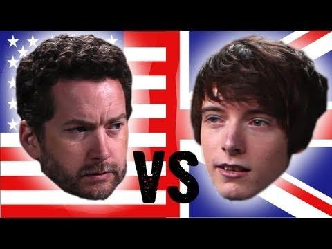 AMERICA VS. ENGLAND!!!