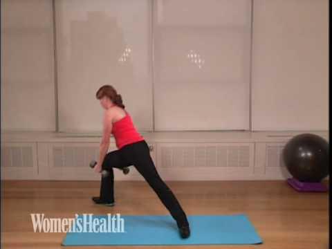 rotational lunge to shoulder press.m4v