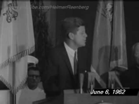 June 6, 1962 - John F. Kennedy's at the United States Military Academy West Point, New York