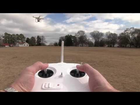 DJI Phantom Flight Controls Demonstration