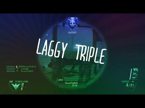 LAGGY TRIPLE (MW3/BO2/MW2 Clips & Fails)