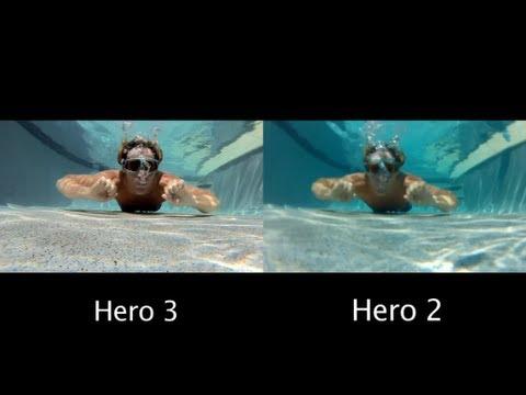 GoPro Hero 3 vs 2 - Under Water Comparison - GoPro Tip #60   MicBergsma