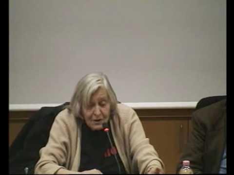 Le donne nell'universo delle istituzioni, incontro con Margherita Hack (4/4)