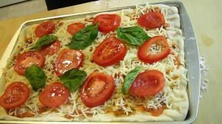 como hacer una PIZZA - receta completa¡¡¡-