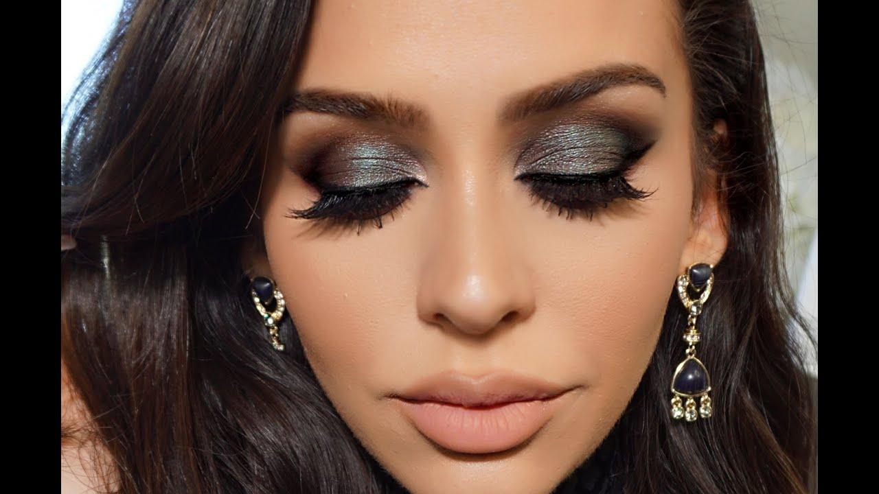 Вечерний макияж фото для кареглазых